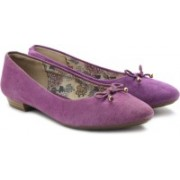 Clarks Cavier Gold Bellies For Women(Purple)