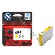 Мастило HP 655, Yellow, p/n CZ112AE - Оригинален HP консуматив - касета с мастило