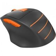 Оптична мишка A4tech FG30 Fstyler, безжична, Оранжев