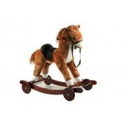 ODG Cavallo A Dondolo Con Ruote In Legno Per Bambini Gioco Bambini Giocattolo