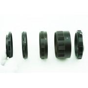 Macro Extension Tube Olympus 4/3 Camera Lens 3*metaal ring