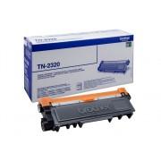 Brother Cartucho de tóner Original BROTHER TN2320 Negro 2.600 páginas para BROTHER DCP-L2500, L2520, L2560, HL-L2300, L2340, L2360, L2365, MFC-L2700,...