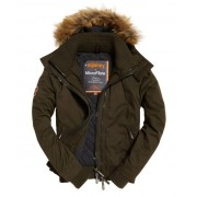 Superdry Microfibre SD-Windbomber Jacket Green