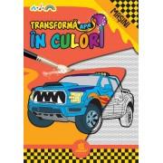 ''Transformă apa în culori. Mașini''