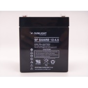 Sunlight 12V 4.5Ah baterie AGM VRLA SF GUARD 12-4.5