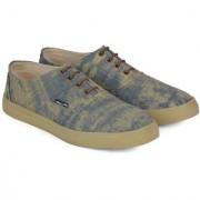 Wega Life AARON Navy/Beige Canvas Shoes