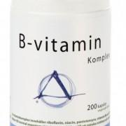Helhetshälsa B-vitamin Komplex 200 kapslar