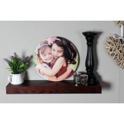 "Gallery SI Limited t/a Colour House £9 instead of £48.49 (from Colour House Print) for a 12"" x 12"" personalised wooden wall hung shape or £11 for a 16"" x 16"" wall hung - save up to 81%"