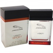 Jaguar vision sport 100 ml eau de toilette edt spray profumo uomo