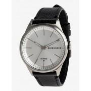 Quiksilver Bienville Leather - Reloj Analógico para Hombre - Gris - Quiksilver