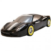 TukTek Kids First Super Sport 12 Assorted Colors Race Car Friction Push Racing Car Power for Boys & Girls