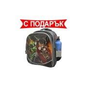 Раница hero 40см с подарък ученически пособия