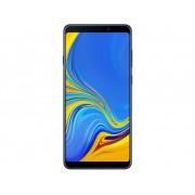 Samsung Galaxy A9 Smartphone Dual-SIM 128 GB 16 cm (6.3 inch) 24 Mpix Android 8.0 Oreo Limonade, Blue