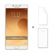 Samsung Galaxy C9 Pro C9000 6 GB RAM 64 GB ROM 6.0 '' 16.0MP Octa Core Oro + Protector De Pantalla + Estuche