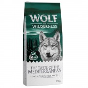 2x12kg Wolf of Wilderness The Taste Of The Mediterranean ração