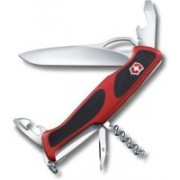 Victorinox Ranger Grip 61,130mm,component Handels,Red/Black Swiss Army Knife(Red, Black)