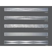 RGB LED-es folyóka - választható mintával
