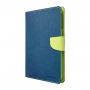 Mercury Pouzdro / kryt pro Apple iPad mini 1 / 2 / 3 - Mercury, Fancy Diary Navy/Lime