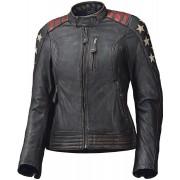 Held Laxy Ladies Motorcycle Leather Jacket Black Red 42