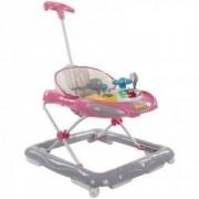 Premergator Cu Control Parental Super Car Sun Baby Roz Cu Gri