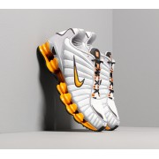Nike Shox Tl Off White/ Orange Peel-Wolf Grey-Oil Grey