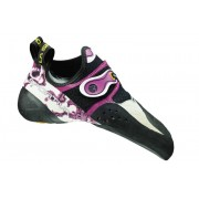 La Sportiva Solution - scarpette da arrampicata - donna - White/Pink
