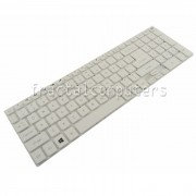 Tastatura Laptop Packard Bell LV44 alba