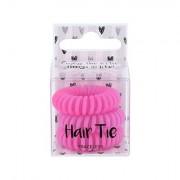 2K Hair Tie spirálovité gumičky do vlasů 3 ks odstín Pink pro ženy