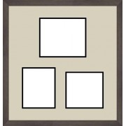 ArtToFrames Art to Frames Double-Multimat-281-802/89-FRBW26061 18 by 19-Inch Picture Frame, 1.25-Inch Wide, Espresso