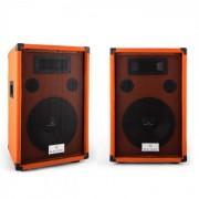 coppia casse audio Beatamine-D 200W RMS arancioni