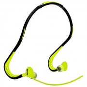 Iremax Remax Cuffie Auricolarein-Ear Headphones Sports Con Microfono Rm-S15 Universale Yellow Per Modelli A Marchio Philips