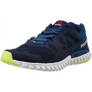 Reebok Men's Twistform Blaze 2.0 Mtm Blue, Navy, White and Yellow Running Shoes - 8 UK/India (42 EU)(9 US)