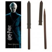 Pix Harry Potter - Draco Malfoy Bagheta magica + semn de carte