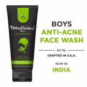 Teenilicious Anti Acne Pimples Face Wash For Boys