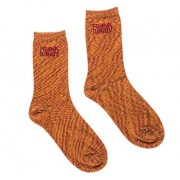 Bamboo Socks Solid Space Red Ochre: 41-46