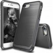 Husa iPhone 7 Ringke Onyx Mist Gray + Bonus folie protectie display Ringke