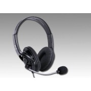 Xtreme 90478 Cuffia Pc Ad Archetto Con Microfono Over Ear Con Controllo Volume Tasto Mute Colore Nero - 90478 X22pro