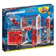 Playmobil City Action, Statie de pompieri