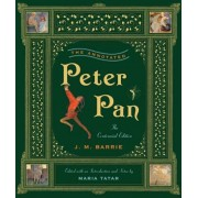 The Annotated Peter Pan, Hardcover