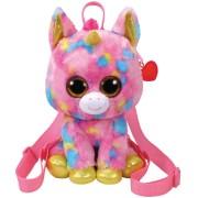 Ty Beanie Pluche Ty Beanie gekleurde eenhoorn rugzak Fantasia 24 cm voor kinderen