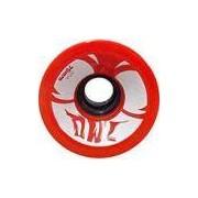 Roda para Skate Sun 70mm 80a Owl Sports - Vermelho