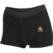 Aclima W's Warmwool Shorts JetBlack 2017 Tunna underställsbyxor i merino