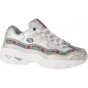 Skechers Energy-Steel 13419-SIL, Vrouwen, Zilver, Sneakers maat: 38,5 EU