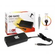 OkTech Ok-SA90 carregador específico para Portatil Samsung 90W (19V 4. 74A / 5,5 mm * 3. 0 mm)