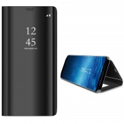 Samsung Galaxy S9 Luxury Mirror View Flip Case - Black