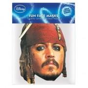 Kartonnen masker Jack Sparrow