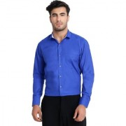 Yonex Fashion Casual Men's Shirts | Formal Shirts For Men's | Shirts For Men |Formal Shirts |Men's Shirts | Full Sleeve Shirts |Blue (Small)