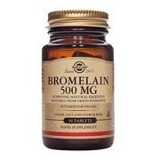 Bromelaina enzima promotora da digestão 30comprimidos - Solgar