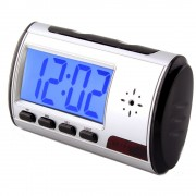 Sveglia con telecamera nascosta spia integrata definizione VGA con sensore di rilevamento