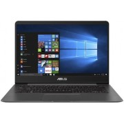 "Ultrabook ASUS ZenBook UX430UA-GV502R (Procesor Intel® Core™ i7-8550U (8M Cache, up to 4.00 GHz), Kaby Lake R, 14"" FHD, 16GB, 256GB SSD, Intel® UHD Graphics 620, Wireless AC, FPR, Win10 Pro, Gri)"